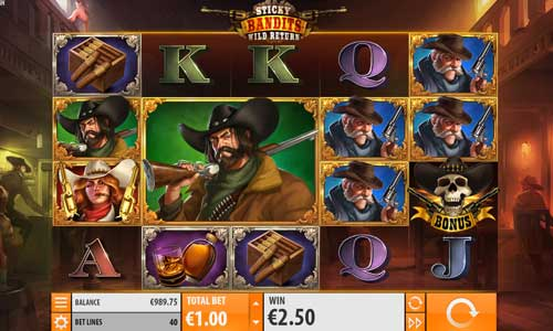 Sticky Bandits 2 Wild Return slot