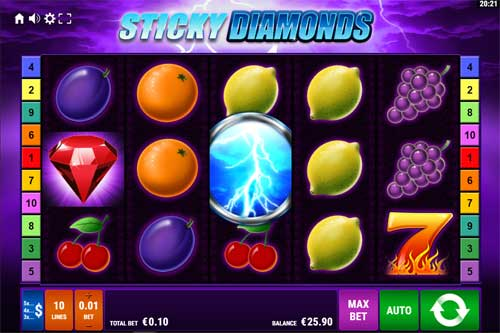 Sticky Diamonds slot