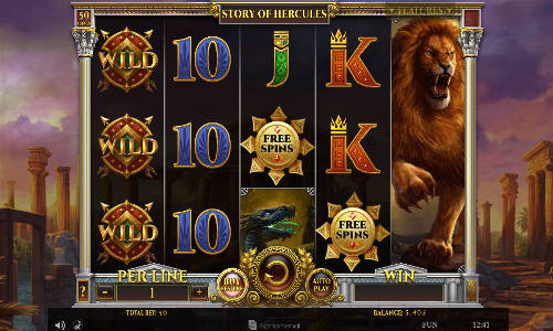 Story of Hercules slot
