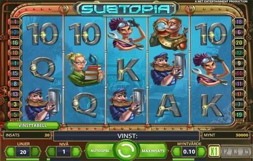 Subtopia slot