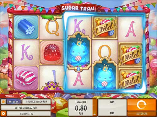 Sugar Trail Videoslot Screenshot