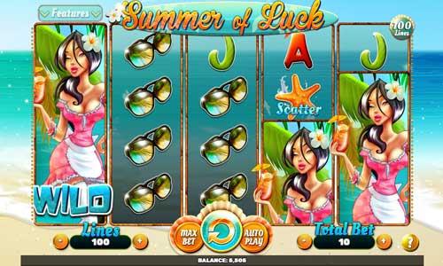 Summer of Luck Videoslot Screenshot