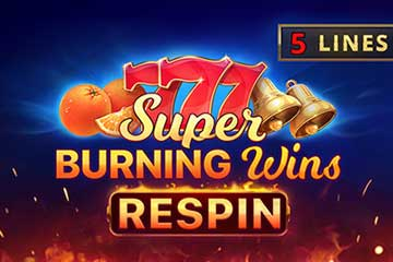 Super Burning Wins Respin slot