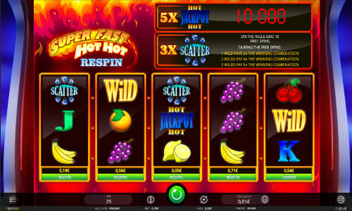 Super Fast Hot Hot Respin slot