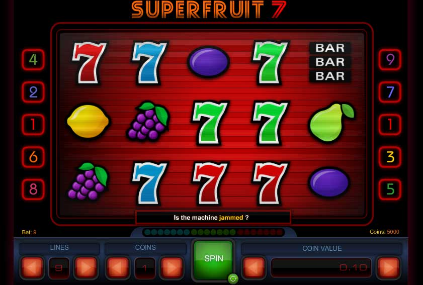 Superfruit 7 slot