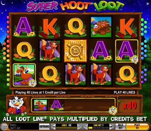 Super hoot loot slot machine mgm grand slot machine