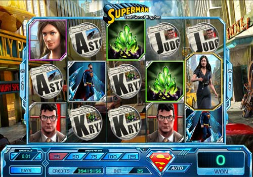 Superman Last Son of Krypton Slot - Try for Free Online