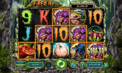 T-Rex 2 Videoslot Screenshot