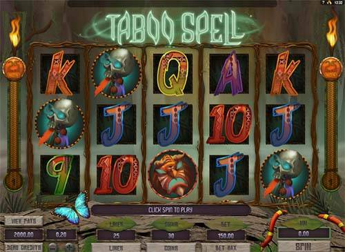 Taboo Spell Slot Machine - Try Playing Online for Free
