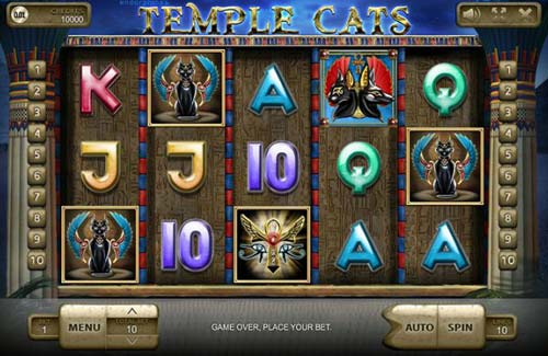 Temple Cats slot