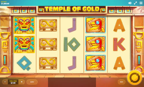 Temple Of Gold - Rizk Casino