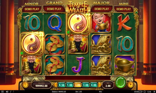temple of Wealth slot overview and summary