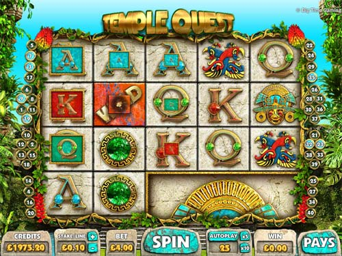 Up to €350 Bonus! Play Temple Quest Slot at Mr Green