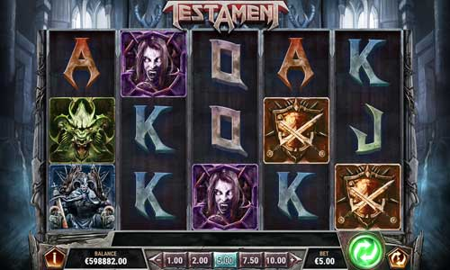 testament slot review