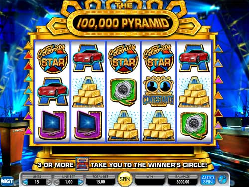 The 100,000 Pyramid slot