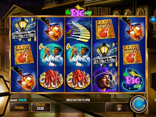 The Big Easy slot