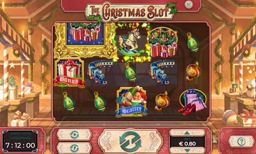 The Christmas Slot Videoslot Screenshot