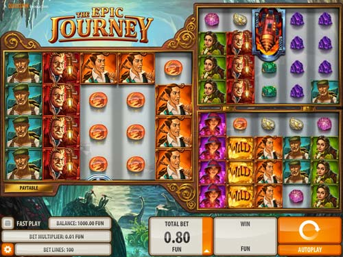 The Epic Journey Online Slot - QuickSpin - Rizk Online Casino Sverige