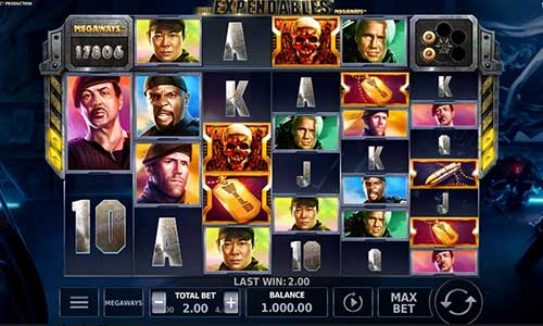 The Expendables Megaways slot