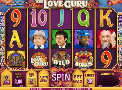 The Love Guru slot