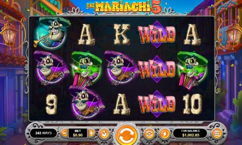 The Mariachi 5 Videoslot Screenshot