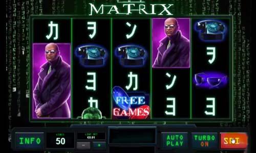 The Matrix slot