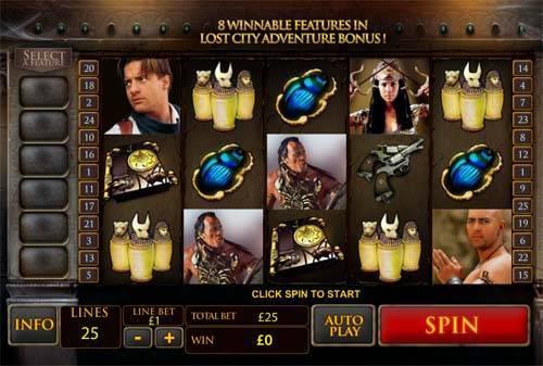 The Mummy slot free play demo