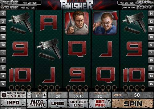 The Punisher slot free play demo