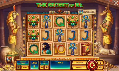 The Secret of Ba slot free play demo is not available.