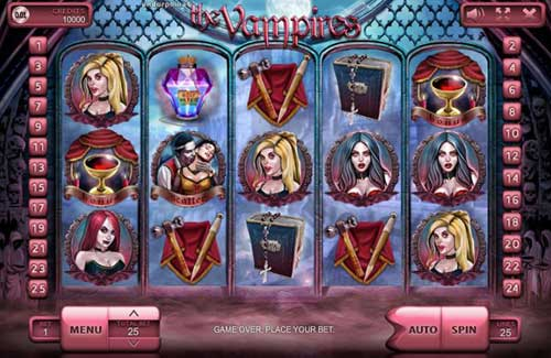 The Vampires slot free play demo