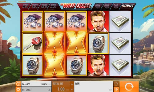 The Wild Chase Videoslot Screenshot