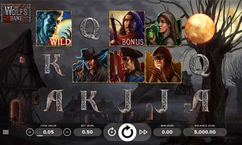 the wolfs bane slot review