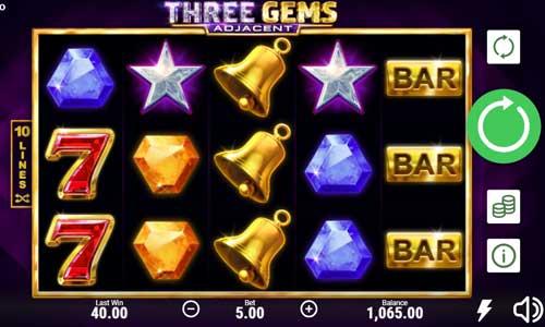 Three Gems Videoslot Screenshot