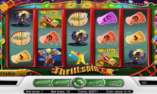 Thrill Spin slot free play demo