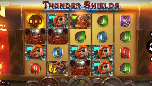 Thunder Shields Videoslot Screenshot