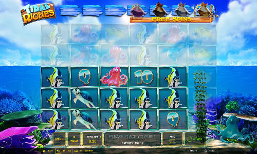 Tidal Riches Videoslot Screenshot
