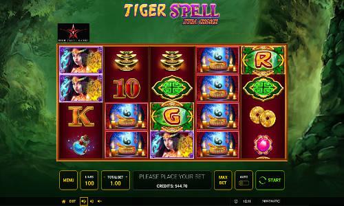 Tiger Spell Xtra Choice slot