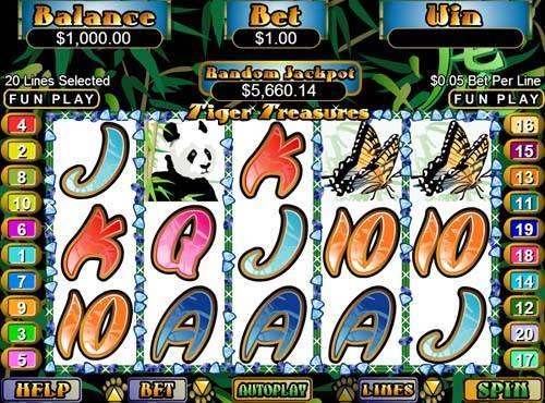 Tiger Treasures slot free play demo