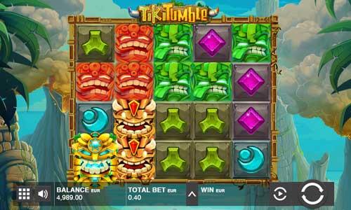 Tiki Tumble Videoslot Screenshot