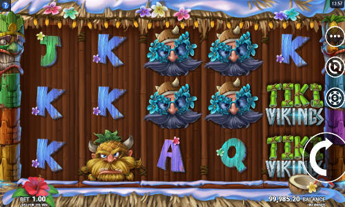 Tiki Vikings Videoslot Screenshot