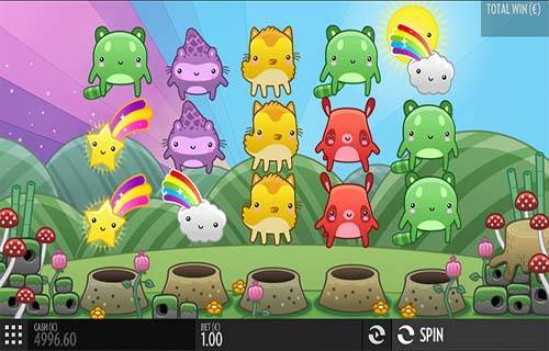Toki Time Videoslot Screenshot