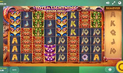 Totem Lightning Power Reels Videoslot Screenshot