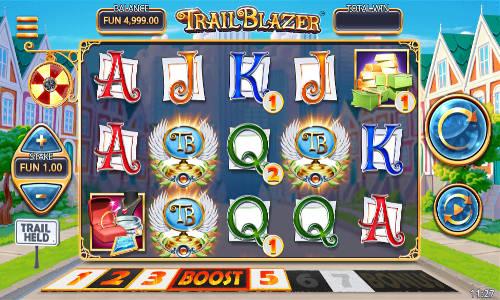 Trail Blazer Videoslot Screenshot