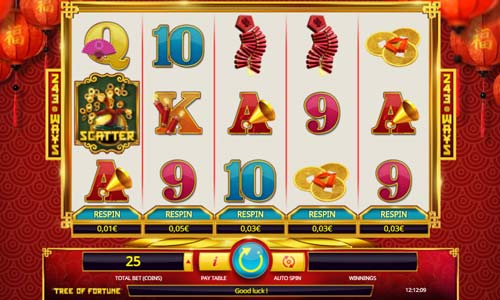 Tree of Fortune Videoslot Screenshot