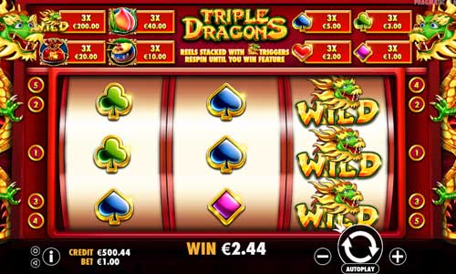 Triple Dragons slot
