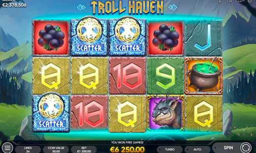 Troll Haven Videoslot Screenshot