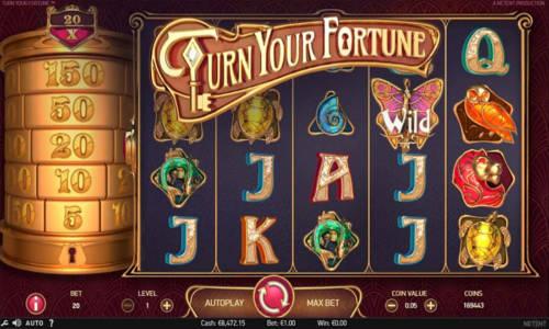 Turn Your Fortune Videoslot Screenshot