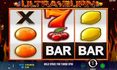 Ultra Burn slot