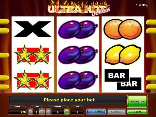 online slot ultra hot deluxe