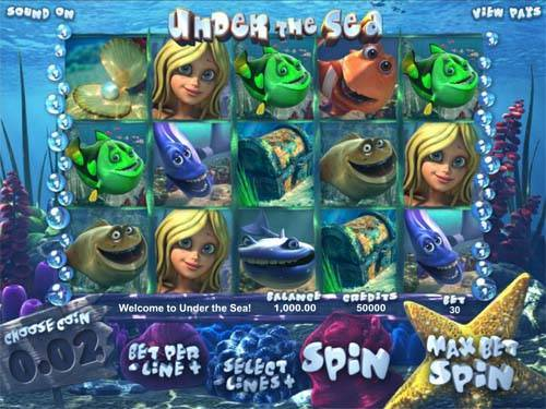 Under the Sea Slots - Play this Game by BetSoft Online